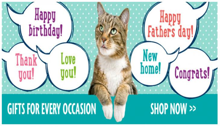 For some great gift ideas please visit: shop.rspca.org.uk/craven